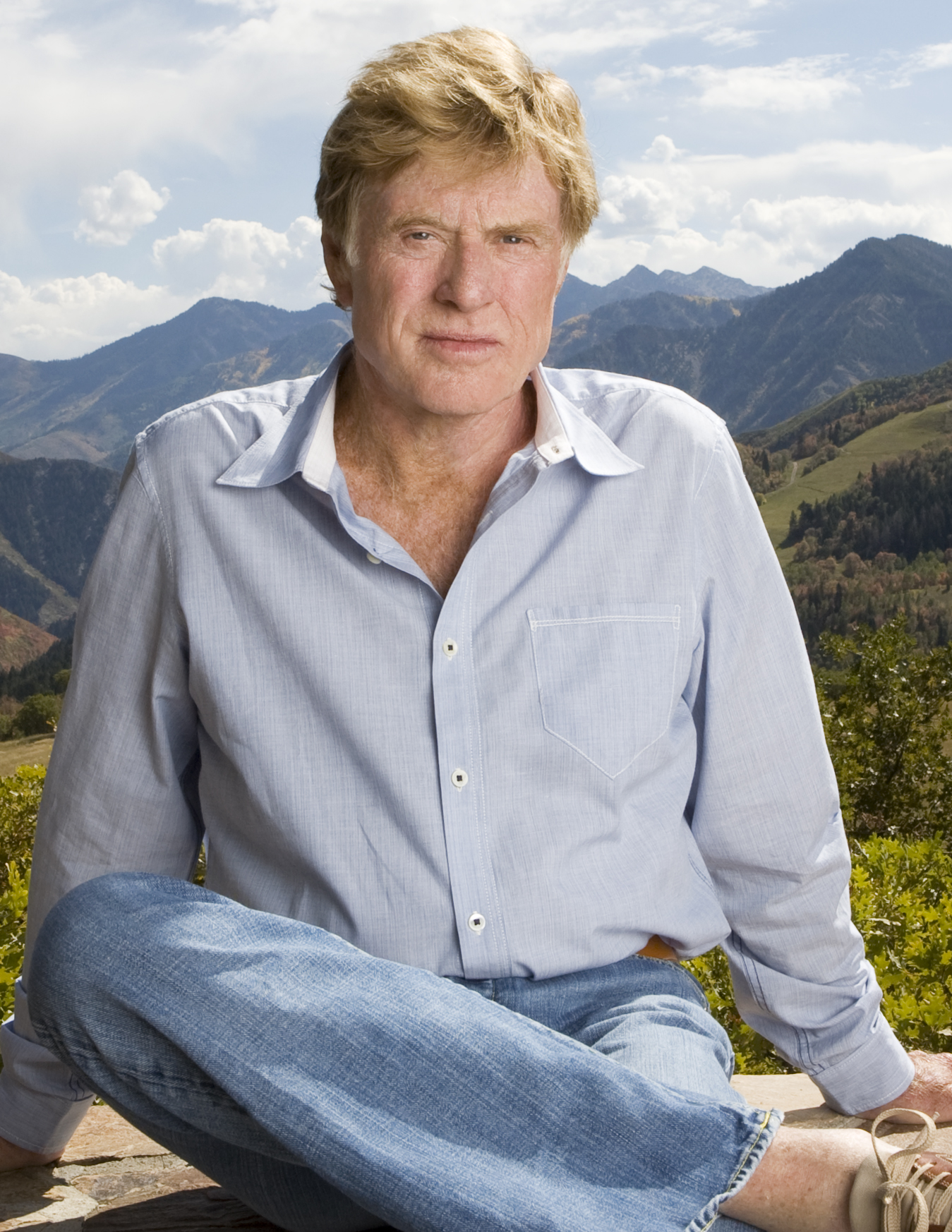 Redford and partners are selling amenities.