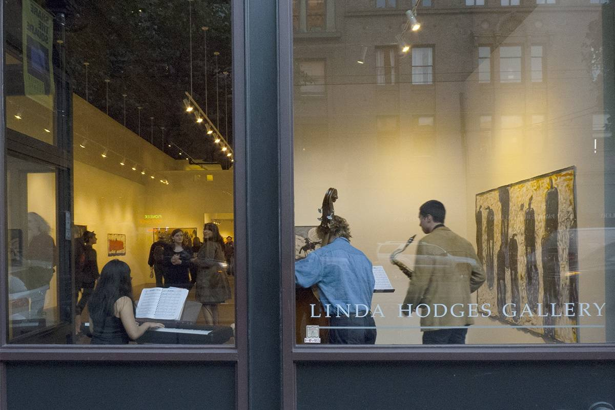 Linda Hodges Gallery in Pioneer Square. Photo courtesy Linda Hodges Gallery