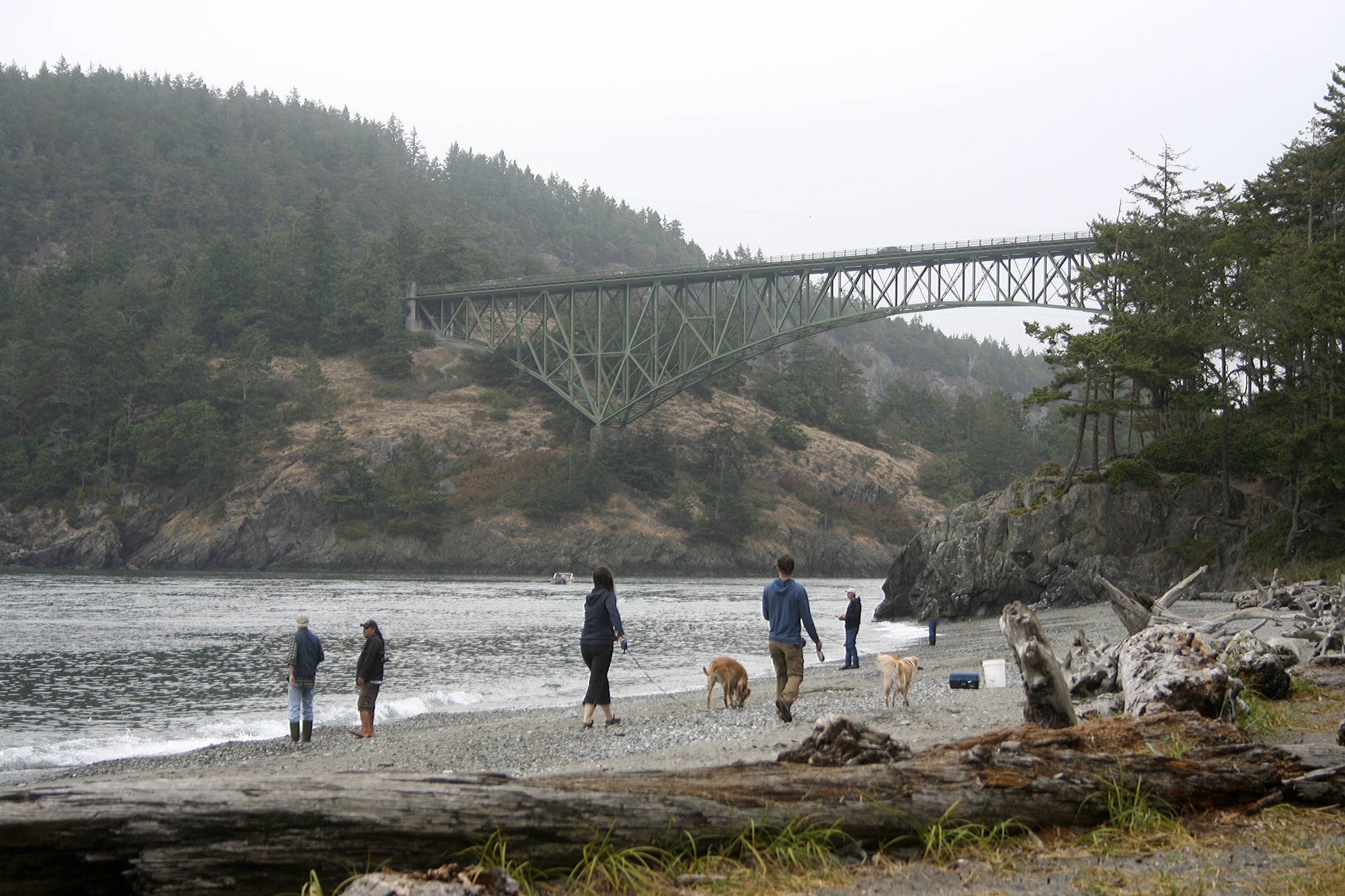 Deception Pass State Park. Deception Pass is a strait separating Whidbey Island from Fidalgo Island. File photo